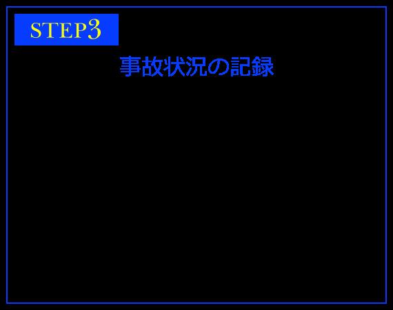 STEP3 事故状況の記録